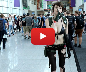 Quiet z MGS5 - cosplay na Gamescom 2017