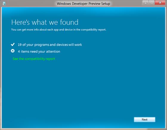 Windows 8 instalator zgodność