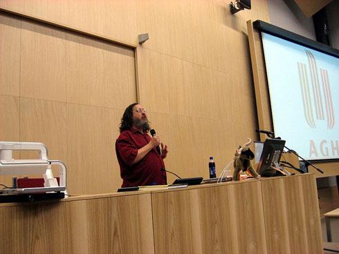 Richard Stallman - przemowienie