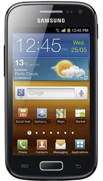 Samsung Galaxy Ace 2 smartfon wygląd front system Android 2.3 Gingerbread TouchWiz