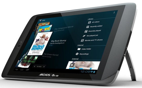 Archos 80 G9 Turbo tablet oparty stopka