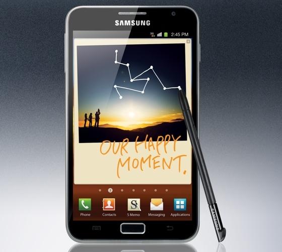 Samsung Galaxy Note smartfon interfejs aktualizacja