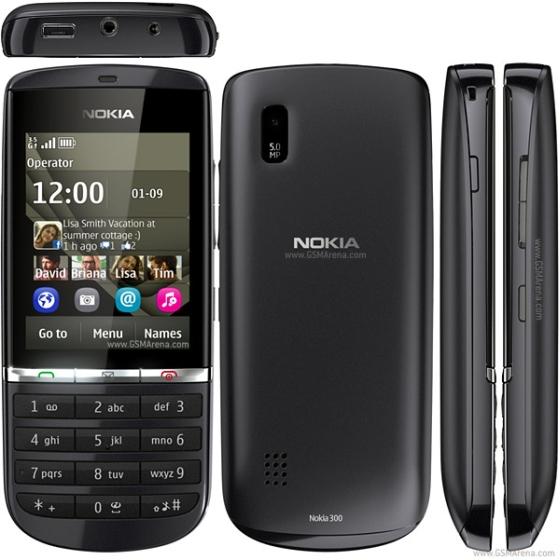 Nokia 300 wygląd wymiary front tył bok