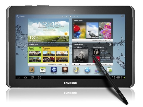 Samsung Galaxy Note 10.1 tablet rysik S Pen  Multi Screen