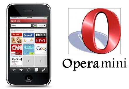 Opera Mini przeglądarka iPhone download pobierz