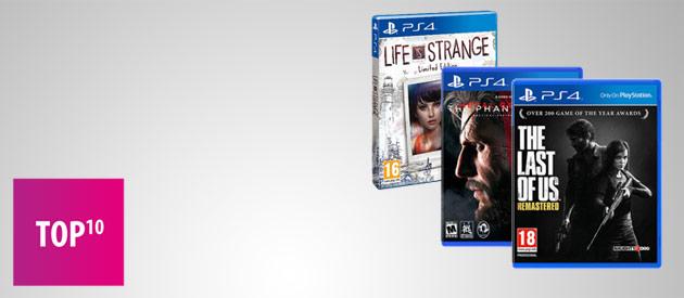 Najlepsze gry na PS4 - TOP 10