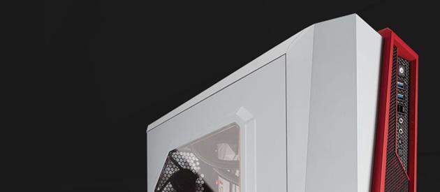 Corsair Carbide SPEC-ALPHA - obudowa dla fanów biało-czerwonych