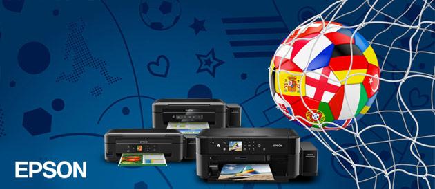 Mistrzostwa w piłce nożnaj 2016 - ustrzel drukarkę Epson!