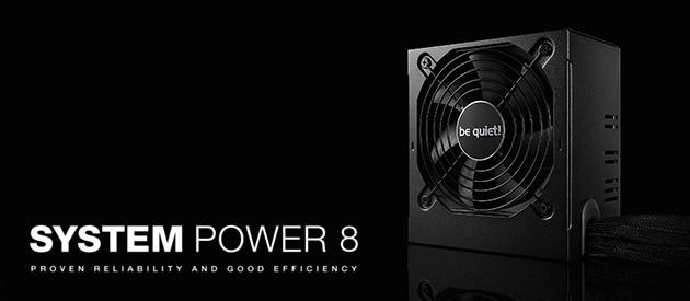 be quiet! System Power 8 500 W – ekonomiczny zasilacz w niemieckim wydaniu