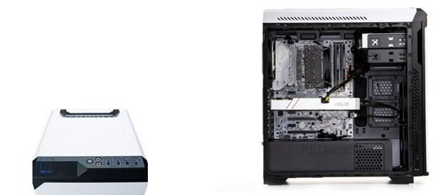 I wtedy wkracza on - cały na biało czyli Komputronik Infinity PBA-200
