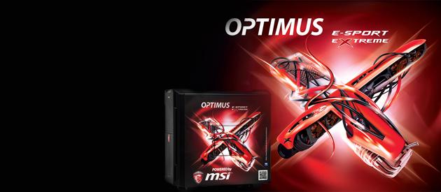 MSI Optimus E-Sport Extreme - konkretna maszynka dla graczy
