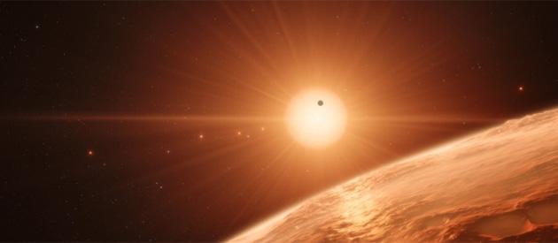 7 planet podobnych rozmiarem do Ziemi w jednym układzie - na trzech mogłoby powstać życie